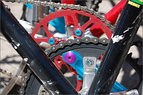 Bicycle Photography - Chains and Chainrings