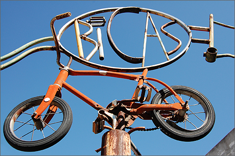 Bicycle Photography - BICAS sign