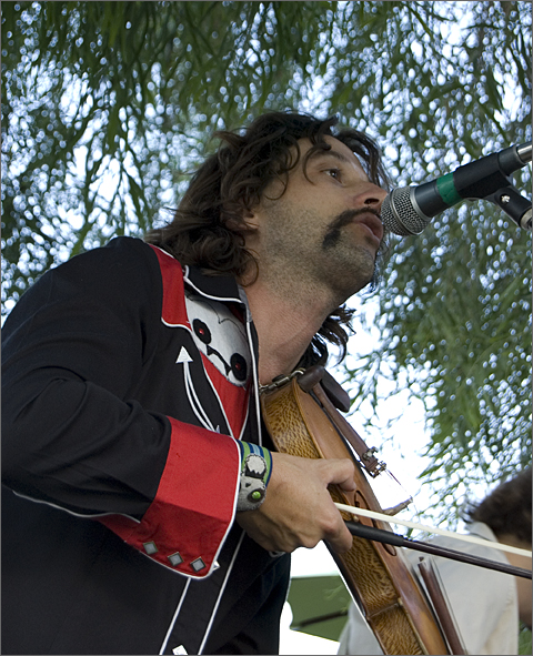 Dusty Buskers performing in Tucson, Arizona